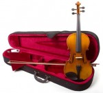 4/4 Full Size Handcrafted Maplewood & Spruce Violin - Fiddle with Case and Bow
