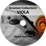 Greatest Collection: VIOLA Sheet Music on 2 DVDs
