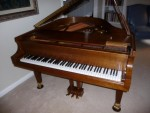 Baldwin Walnut Grand Piano Artist Series Model M (Used) 126693