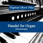 Handel for Organ Concertos sheet music