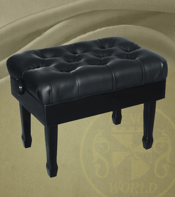 Pleasing 26 Black Long Premium Concert Piano Bench With Genuine Gmtry Best Dining Table And Chair Ideas Images Gmtryco