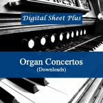 Organ Concertos Collection sheet music
