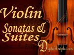 Violin Piano Sonatas and Suites Sheet Music Collection