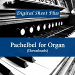 Pachelbel for Organ sheet music