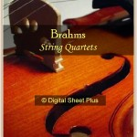 Brahms String Quartets Sheet Music Collection