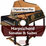 Harpsichord: Sonatas & Suites Ultimate Sheet Music CD Collection