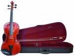 Merano Traditional 3/4 Size Violin with Case