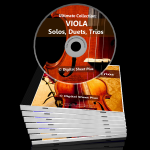 Viola Sheet Music Collections (Bundle Packs) 6 CDs