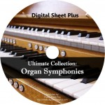 Ultimate Collection: Organ Symphonies Sheet Music (CD)