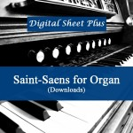 Saint-Saens for Organ sheet music