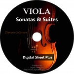 Viola Sonatas & Suites Ultimate Sheet Music Collection (DVD)