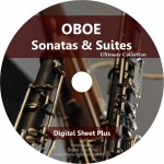 Ultimate Collection: OBOE Sonatas & Suites Sheet Music on DVD