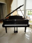 Black Shaeffer and Sons Used Baby Grand Piano (Used)