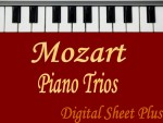 Mozart Piano Trios Sheet Music