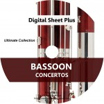 Ultimate Collection: Bassoon Concertos  Sheet Music (CD)