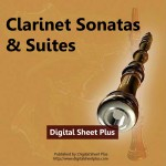 Clarinet Sonatas & Suites Sheet Music Collection (Downloads)