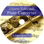 Ultimate Collection: FLUTE CONCERTOS on CD