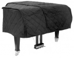 Padded Grand Piano Cover/Straps 5'2