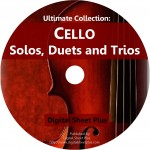 Ultimate Collection: Cello Solos, Duets, Trios Sheet Music on DVD