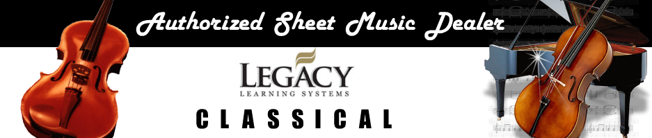 Authorized Sheet Music Dealer