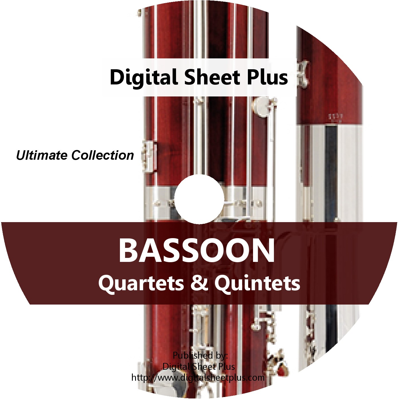 Bassoon Quartets & Quintets Sheet Music CD