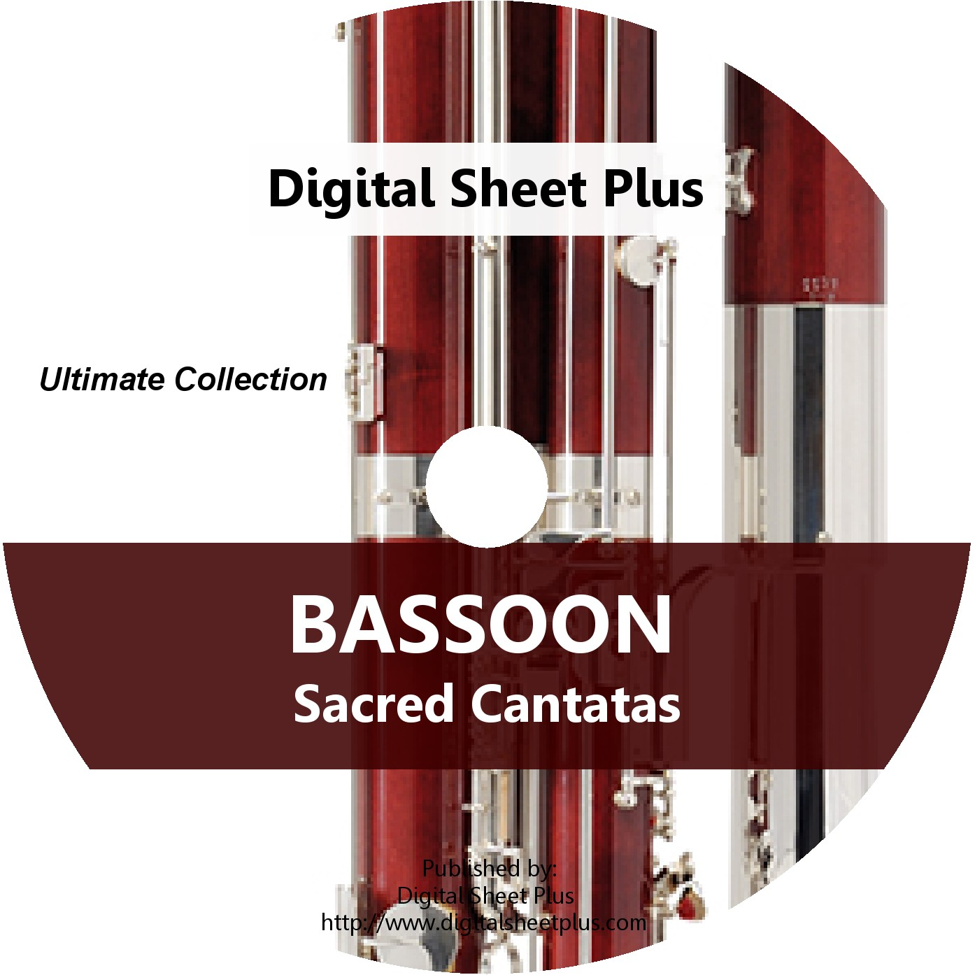 Bassoon Sacred Cantatas Sheet Music CD