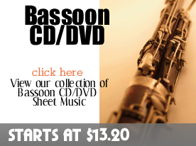Bassoon CD DVD Sheet Music by Digitalsheetplus.com