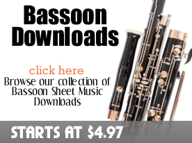 Bassoon Downloads from digitalsheetplus.com