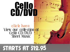 Cello CD DVD Sheet Music by Digitalsheetplus.com