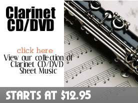 Clarinet CD DVD Sheet Music by Digitalsheetplus.com