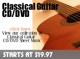 Classical Guitar CD DVD Sheet Music by Digitalsheetplus.com