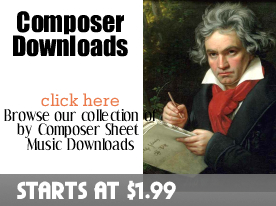 Composer Sheet Music Downloads