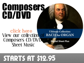 Composers CD DVD Sheet Music by Digitalsheetplus.com