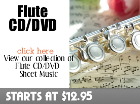 Flute CD DVD Sheet Music by Digitalsheetplus.com