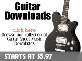 Guitar Downloads from digitalsheetplus.com