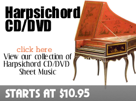 Harpsichord CD DVD Sheet Music by Digitalsheetplus.com