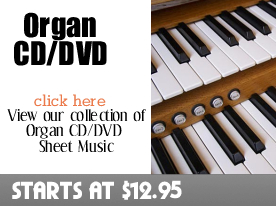 Organ CD DVD Sheet Music by Digitalsheetplus.com