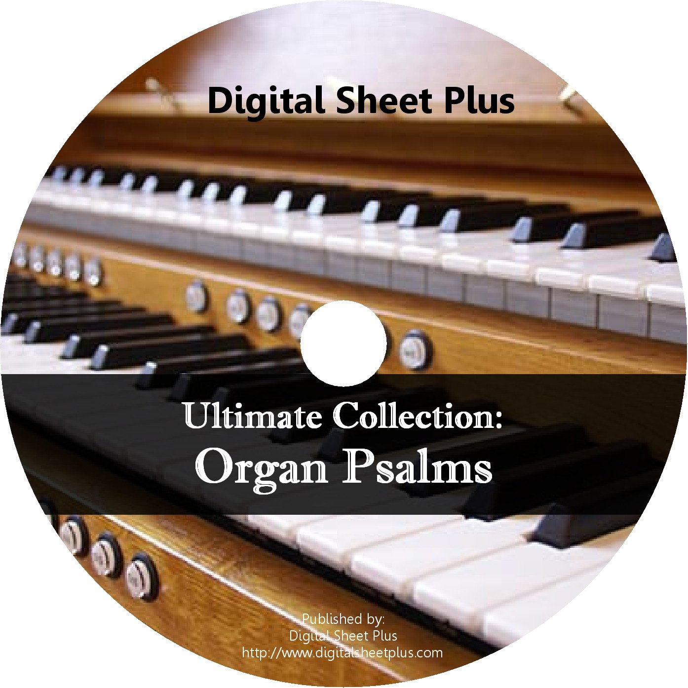 Organ Psalms Sheet Music CD