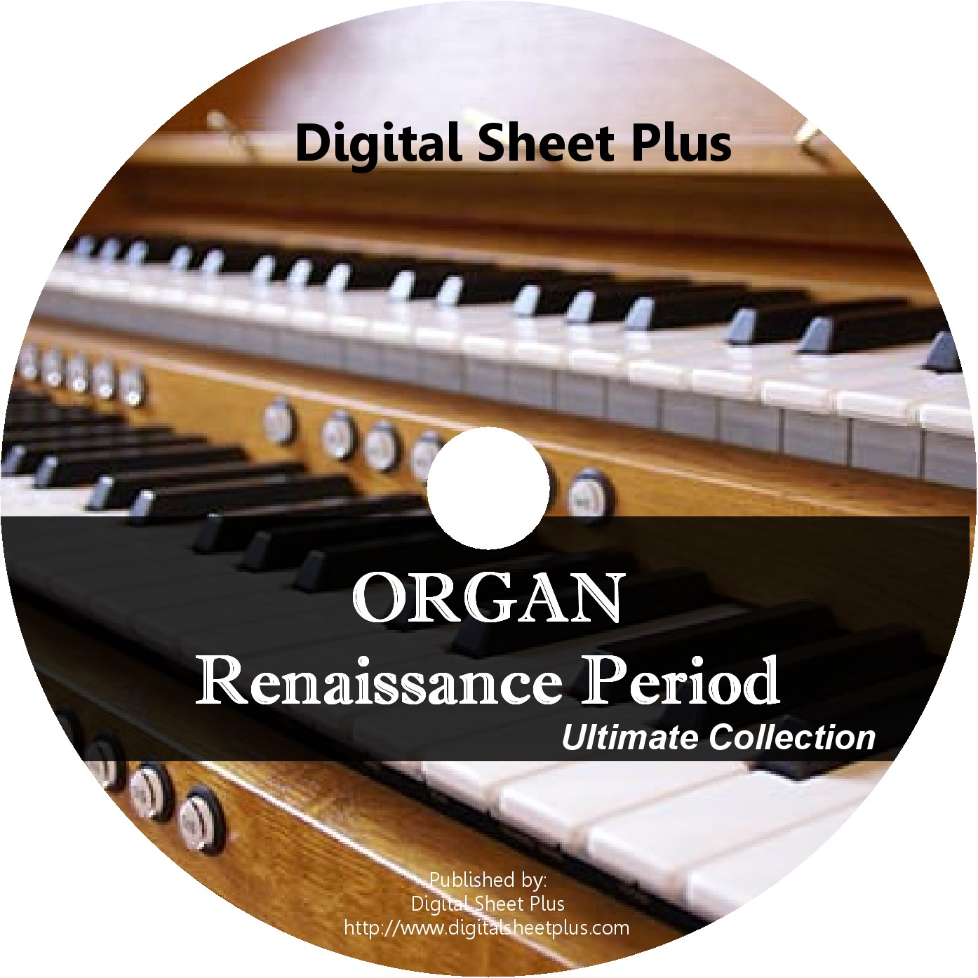 Organ Renaissance Period Sheet Music CD