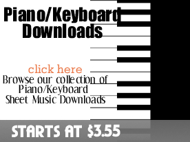 Piano keyboard Downloads from digitalsheetplus.com