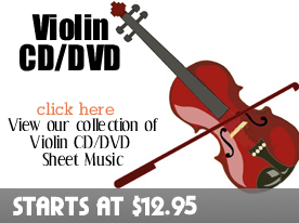 Violin CD DVD Sheet Music by Digitalsheetplus.com