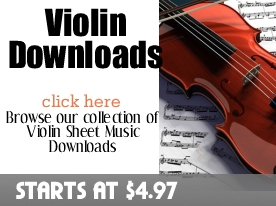 Violin Downloads from digitalsheetplus.com