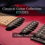 Etudes for Classical Guitar sheet music collection
