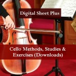Cello Methods, Studies and Exercises (Downloads)