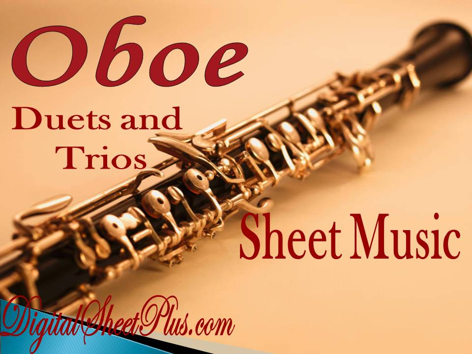 Oboe Duet and Trio Sheet Music Collection - DigitalSheetPlus