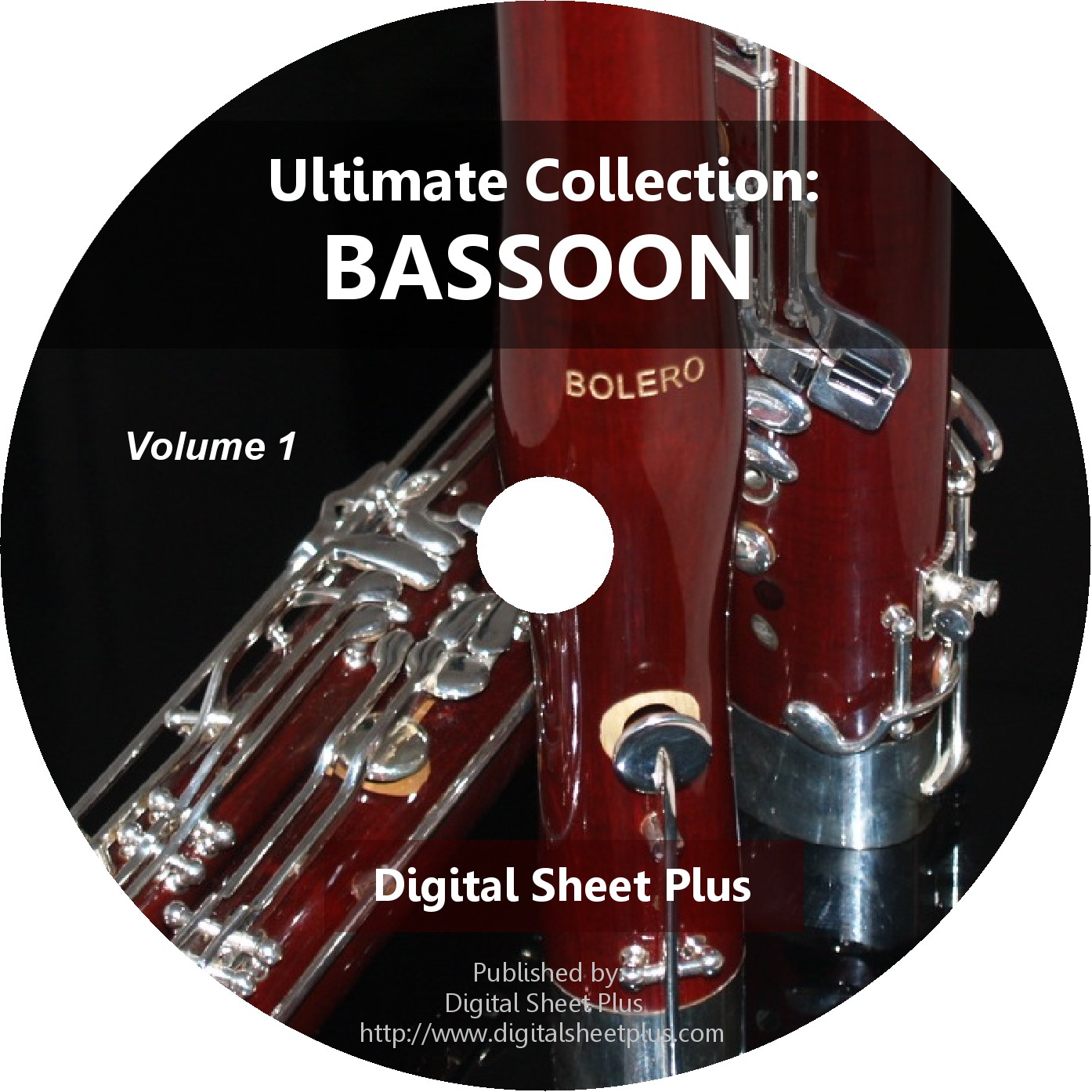 Ultimate Collection Bassoon Sheet Music Volume 1 Dvd