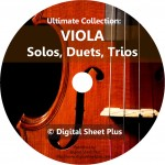Ultimate Collection: Viola Solos, Duets, Trios Sheet Music on DVD