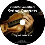 STRING QUARTETS Ultimate Sheet Music Collection (DVD)