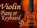 Violin and Piano or Keyboard sheet music