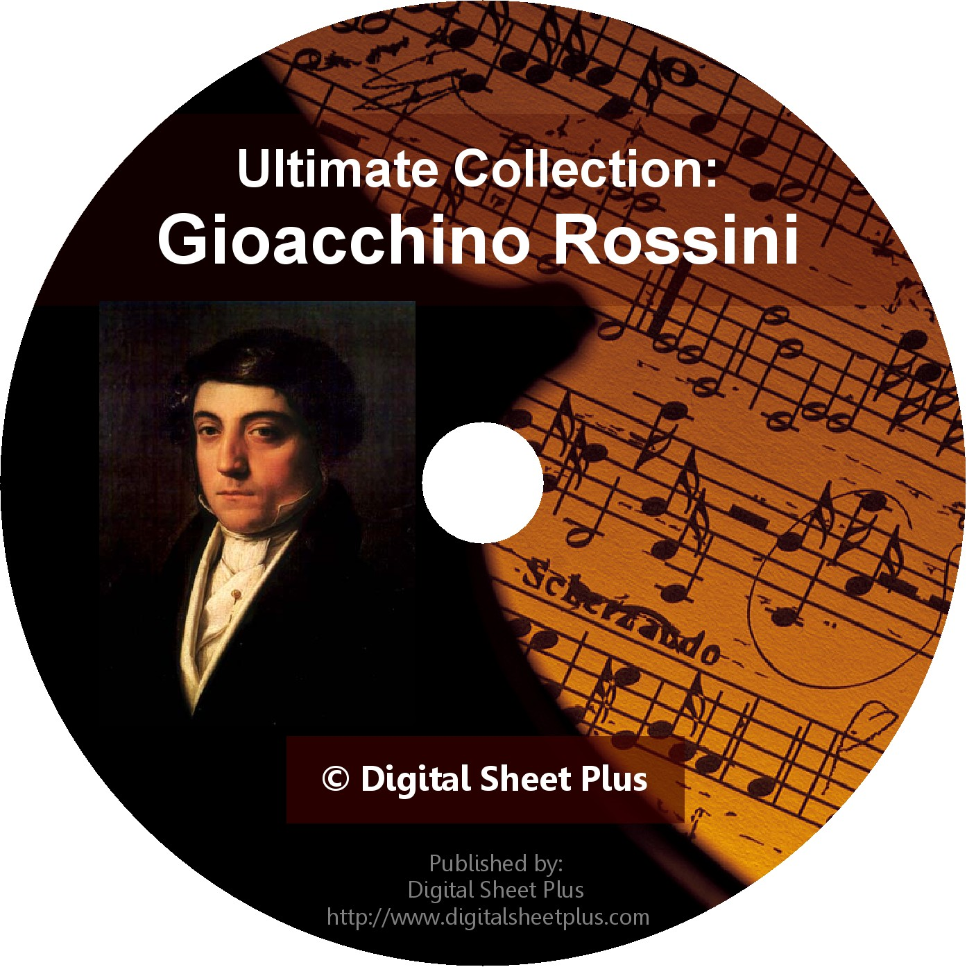 Rossini Gioacchino Ultimate Sheet Music Collection On Cd